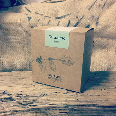 Outpost Coffee Roasters - Dumerso, Washed, Yirgacheffe, Ethiopia