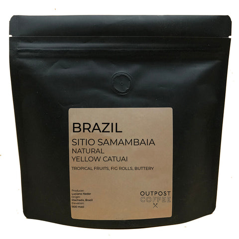 Outpost Coffee Roasters: Brazil, Sitio Samambaia, Natural