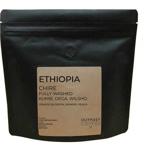 Outpost Coffee Roasters: Ethiopia, Chire, Washed