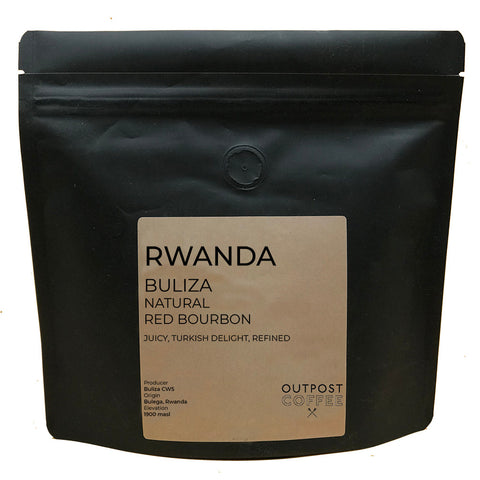 Outpost Coffee: Rwanda, Buliza Washing Station, Natural