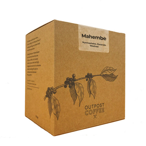 Outpost Coffee: Rwanda, Mahembe Washing Station, Washed