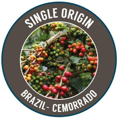 Rinaldo's Coffee: Brazil, Cemorrado - Single Estate, Natural