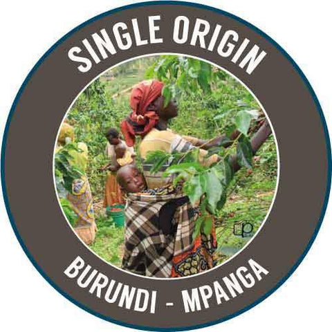 Rinaldo's Coffee: Burundi, Mpanga, Washed
