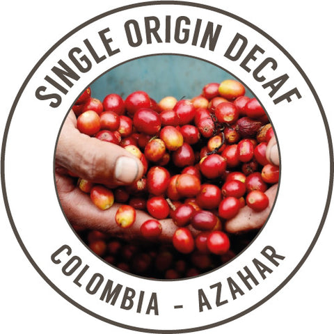 Rinaldo's Coffee: Colombia, Azahar, Decaffeinated