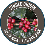 Rinaldos Coffee: Costa Rica, Alto San Juan, Washed