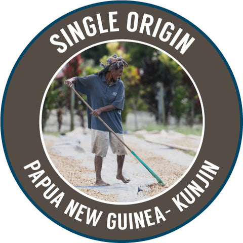 Rinaldo's Coffee: Papua New Guinea, Kunjin, Washed