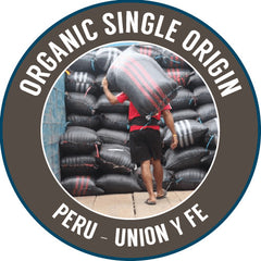Rinaldo's Coffee: Peru, Union Y Fe, Washed