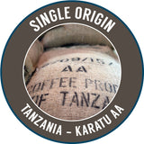 Rinaldos Coffee: Tanzania, Karatu Estate - AA, Washed