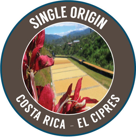 Rinaldos Coffee: Single Origin - Costa Rica: El Cipres