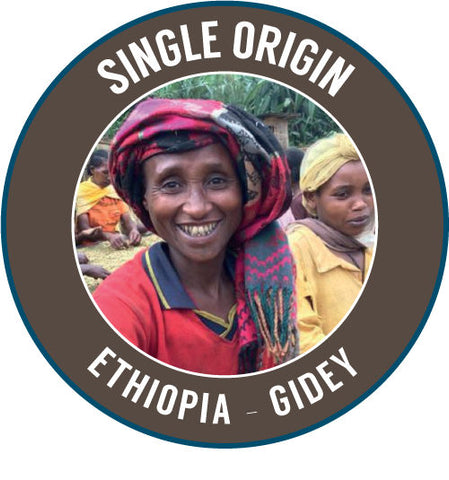 Rinaldos Coffee: Single Origin - Ethiopia: Gidey - 100% Organic Arabica