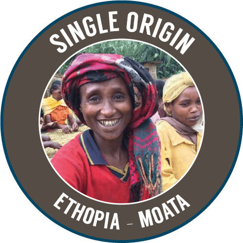 Rinaldos Coffee - Single Origin - Ethiopia: Moata