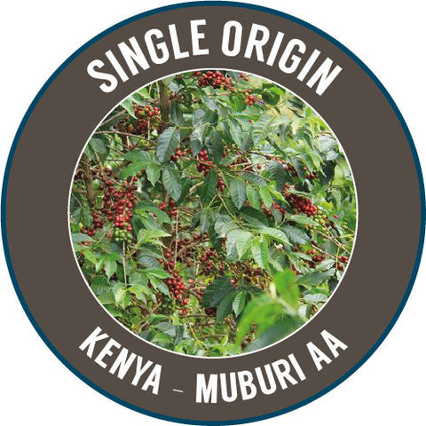 Rinaldos Coffee: Single Origin - Kenya: Muburi AA - 100% Arabica