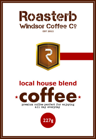 Roasterb Coffee Co - House Blend Coffee - Premium First Crop 100% Arabica