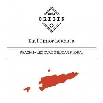 Rounton Coffee: East Timor, Leubasa Village, Pulped Natural
