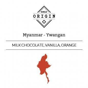 Rounton Coffee Roasters: Myanmar (Burma), Ywangan, Washed