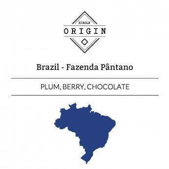 Rounton Coffee Roasters: Brazil, Fazenda Pantano, Pulped Natural