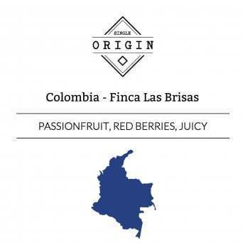Rounton Coffee Roasters: Colombia, Finca Las Brisas, Washed