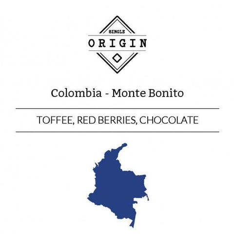 Rounton Coffee Roasters: Colombia, Monte Bonito, Washed