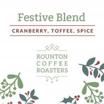 Rounton Coffee Roasters: Festive Blend - Myanmar-El Salvador - Washed and natural