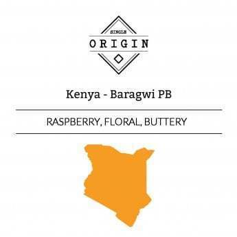 Rounton Coffee Roasters: Kenya, Baragwi Peaberry, Washed
