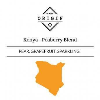 Rounton Coffee Roasters: Kenya, Peaberry Blend, Washed