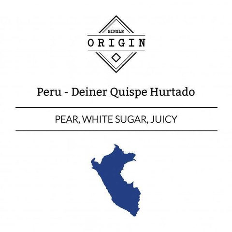 Rounton Coffee Roasters: Peru, Deiner Quispe Hurtado, Washed