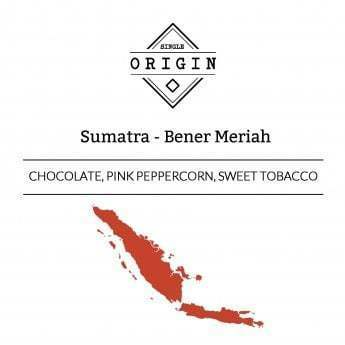 Rounton Coffee Roasters: Sumatra, Bener Meriah, Pulped Natural
