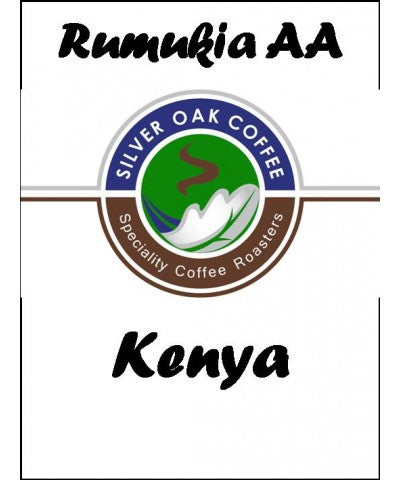 Silver Oak Coffee - Rumukia Farmer's Co-Op, Kenya