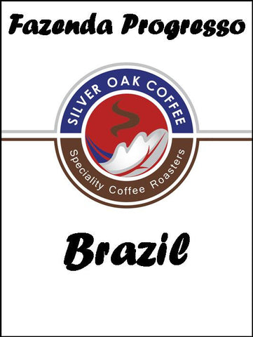 Silver Oak Coffee - Single Estate: Fazenda Progresso, Brazil