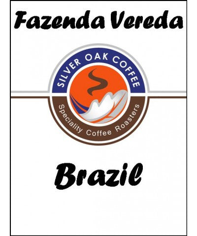 Silver Oak Coffee - Single Estate: Fazenda Vereda Brazil