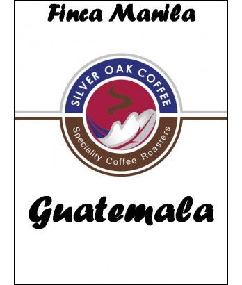 Silver Oak Coffee - Single Estate: Finca Manila, Guatemala