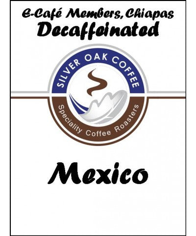 Silver Oak Coffee - Single Origin: E-Cafe Members, Chiapas, Mexico - Decaf