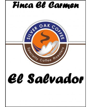 Silver Oak Coffee - Single Origin: Finca El Carmen - El Salvador