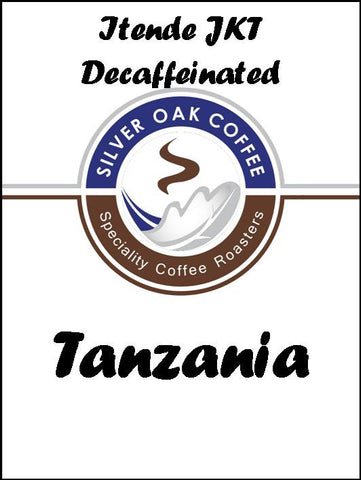 Silver Oak Coffee - Single Origin: Itende JKT, Tanzania Decaf