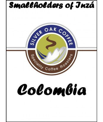 Silver Oak Coffee - Single Origin: Smallholders Of Inza Cauca, Colombia