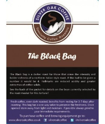 Silver Oak Coffee - The Black Bag - Cruzeiro