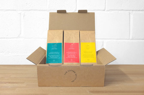 The Coffee Officina - Coffee Selection - Guatemala, Ethiopia And Fiori Espresso Blend