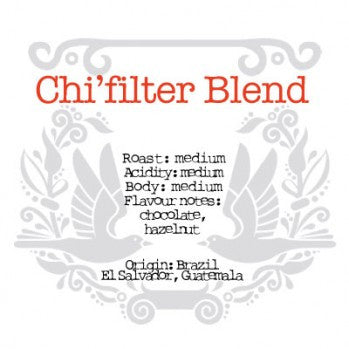 The Crafted Coffee Company - Chi'Filter Blend