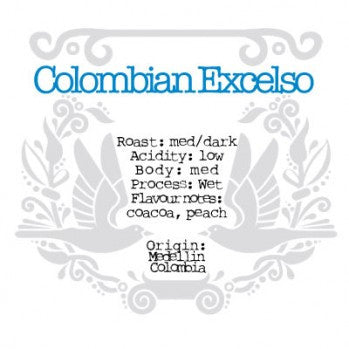 The Crafted Coffee Company - Colombian Excelso Medellin