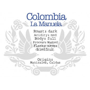 The Crafted Coffee Company - Colombian Supremo La Manuela