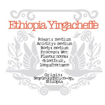 The Crafted Coffee Company - Ethiopian Yirgacheffe