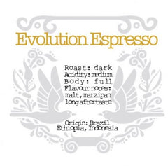 The Crafted Coffee Company - Evolution Espresso Blend
