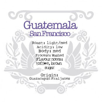 The Crafted Coffee Company - Guatemala Finca San Francisco Tecuamburro