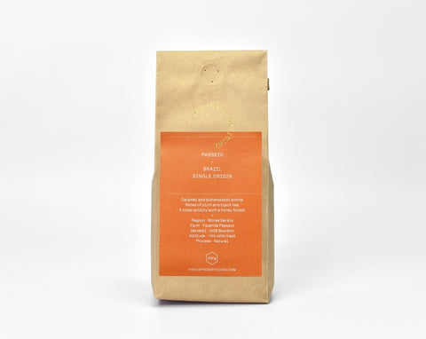 The Coffee Officina: Brazil, Fazenda Passeio, Natural