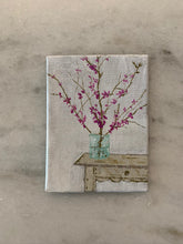 "Load image into Gallery viewer, ""Western Red Bud"" 2x3 inches"