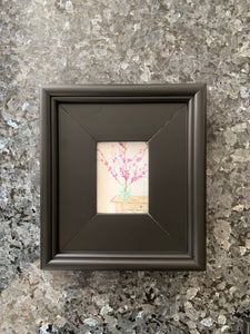 """Western Red Bud"" 2x3 inches"