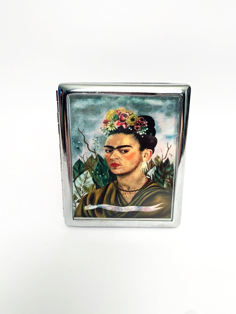 Frida Kahlo Metal Card Case