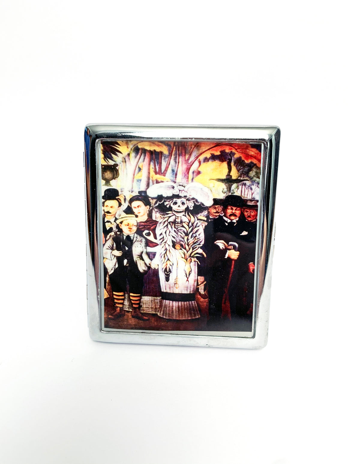 Diego Rivera's 'Alameda Plaza' Metal Card Case