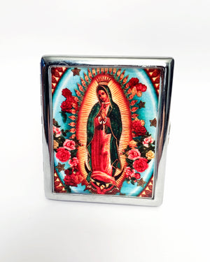 Guadalupe Metal Card Case