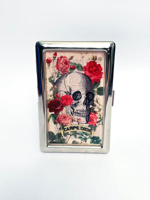 Carpe Diem Metal Card Case
